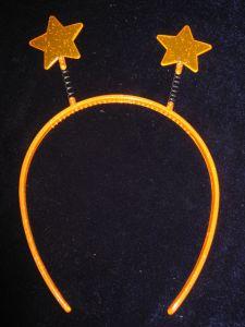 Антенки со звездами оранж.