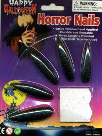Ногти вампира черные