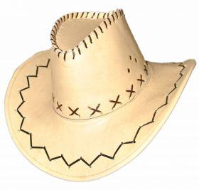 Шляпа ковбойская под кожу