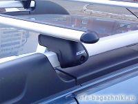 Багажник на крышу Renault Duster, Атлант, аэродинамические дуги на рейлинги