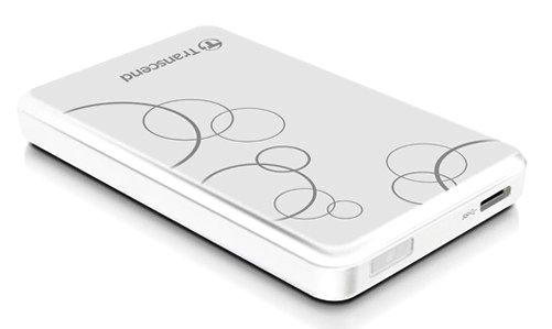 """1TB USB3.0 внешний накопитель Transcend StoreJet 2.5"""" A3W белый"""