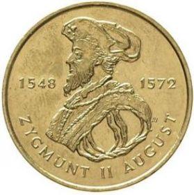 Сигизмунд II Август. 1548-1572 2 злотых 1996 на заказ