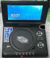 7-дюймовый мобильный DVD-плеер с ТВ, USB, SD, играми