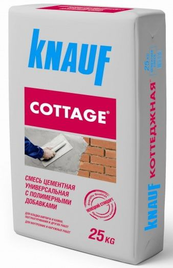 KNAUF Коттеджная- смесь цементная универсальная (25 кг)