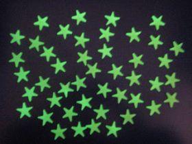 Светящиеся в темноте звездочки-наклейки