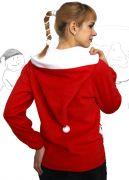 со спины - толстовка Санта
