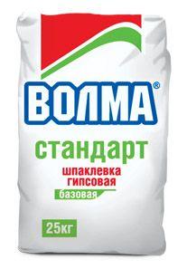 ВОЛМА СТАНДАРТ - базовая гипсовая шпаклевка (25 кг)