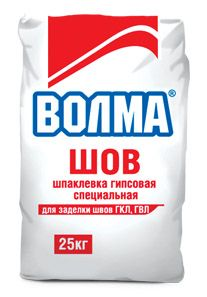 ВОЛМА ШОВ - шпаклевка для заделки швов гипсокартона (25 кг)