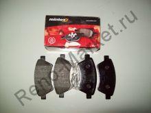 Тормозные колодки передние (MeganeII) Mintex MDB2327 аналог 410608713R, 7701206044, 7701207672, 7701208122, 7701209444, 7701209697