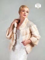Норковая шубка для невесты продажа прокат меха москвааренда фото