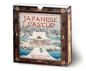 Japanese Castle. 3D construction kit.