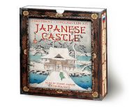 Japanese Castle. 3D construction kit.