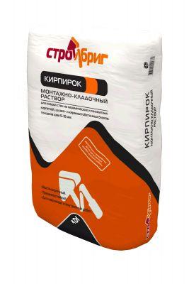 СтройБриг Кирпирок - монтажно-кладочный раствор (25 кг)
