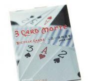 Три карты Монте (3 Card Monte) - двойка, тройка, туз