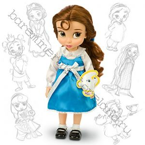 Куклы Бель в детстве