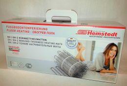 Мат  нагревательный двухжильный для теплого пола Hemstedt  DH 1800вт, 12 кв.м.