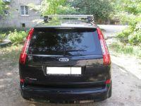 Багажник на крышу Ford C-Max, Атлант, прямоугольные дуги