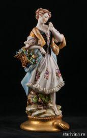 Цветочница, Capodimonte, Италия., артикул 00519