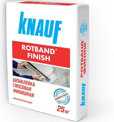КНАУФ РОТБАНД ФИНИШ шпаклевка гипсовая финишная (25 кг)