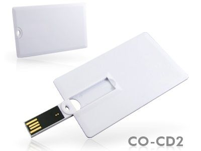 8GB USB Флешка визитка SUPERTALENT STUSB-CO-CD2 белый OEM