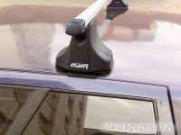 Багажник на крышу Daewoo Espero, Атлант, прямоугольные дуги