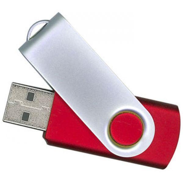 4GB USB-флэш накопитель Apexto U201 раскладной красный OEM