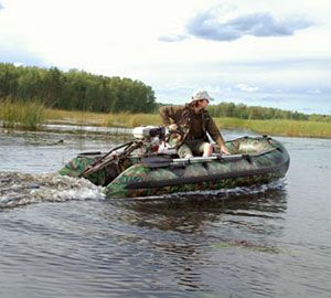 Надувная лодка Badger Hunting Line 300 WP