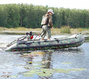 Надувная лодка Badger Hunting Line 370 WP