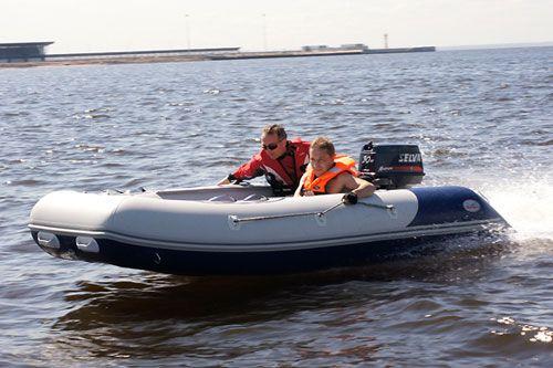 Надувная лодка из пвх Heavy Duty 370 AL