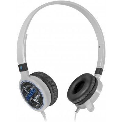 Гарнитура для смартфонов Accord HN-048 белый, кабель 1,2 м