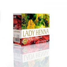 Lady Henna - цвет Махагони -краска для волос на основе индийской хны, 60 г