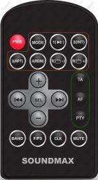HYUNDAI H-CDM8026, SOUNDMAX SM-CDM1032