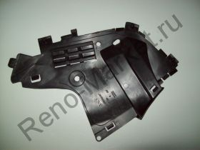 Защита бампера переднего правая (Logan 10-) AsamSa 30261 аналог 6001549323