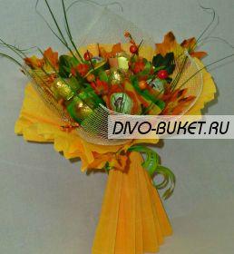 """Букет из конфет №100 """"Золотая осень"""""""
