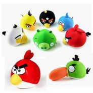 Игрушка мягкая Angry Birds с бамбуковым углем