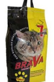 Brava ( Брава ) для гладкошерстных кошек (желтый)