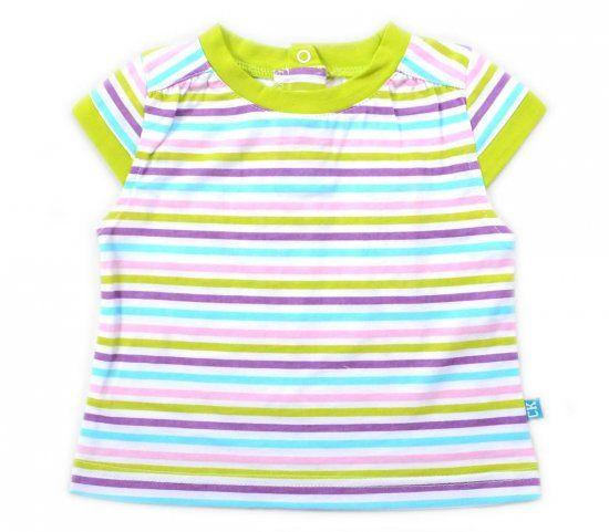 Блуза для девочки в полоску