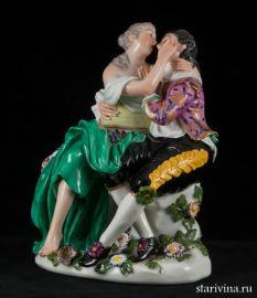 Влюбленная пара, Франция, 19 век