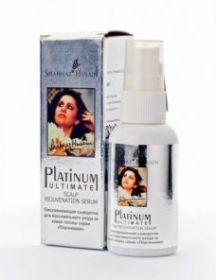 PLATINUM ULTIMATE SCALP REJUVENATION SERUM50ml / Омолаживающая сыворотка для максимального ухода за кожей головы Shahnaz Husain
