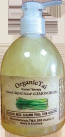 Натуральное жидкое мыло «ЛЕМОНГРАСС» Organic Tai (Органик Тай)