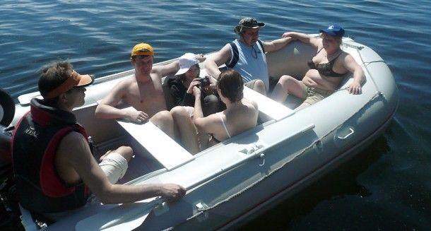 Надувная лодка Badger Sport Line 430 AL