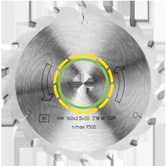 Пильный диск HW 350x3,5x30 W24