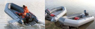 Надувная лодка Classic Line 420