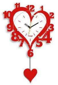 """Часы - """"Сердечко"""""""