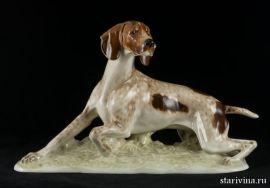 Охотничья собака, Hutschenreuther, Германия, 1938-55 гг., артикул 10301