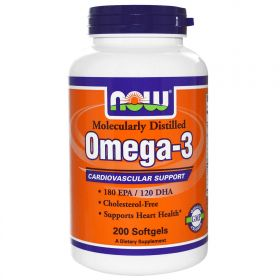 NOW Omega-3 (500 капсул)