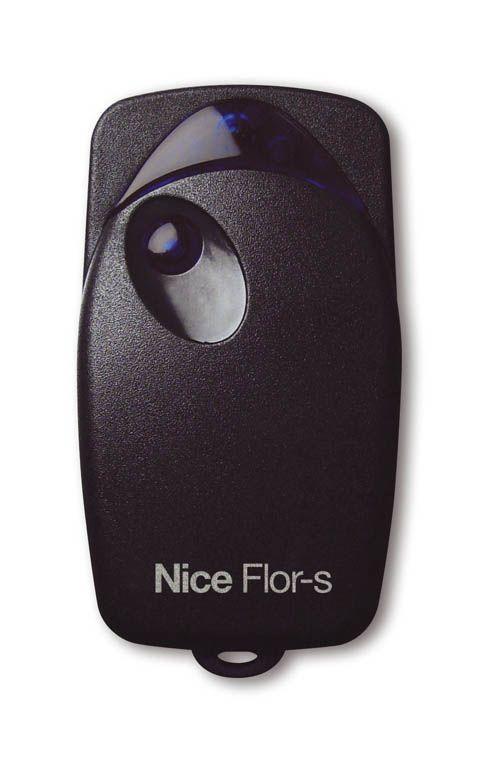 Пульт Nice Flo1R-S (пульт черного цвета).