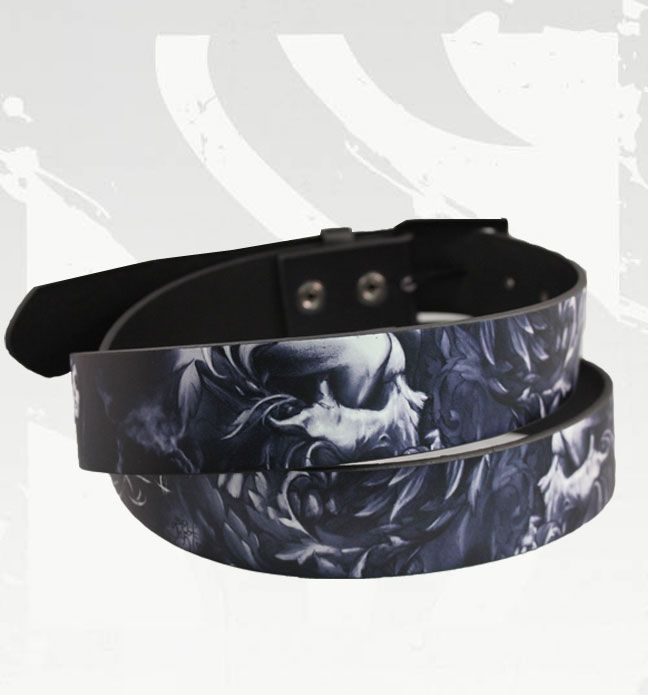 GUS X Smith PU Leather Belt by Sullen