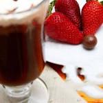 Клубника со сливками - десертный кофе в зернах