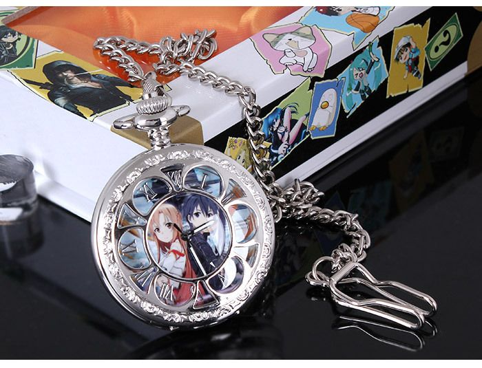 """Карманные аниме часы """"Sword Art Online"""""""
